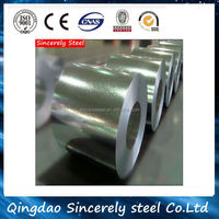 Corrugated cold rolled galvanized /Galvalume steel coil