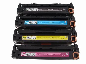 new product CF320A CF321A CF322A CF323A color toner cartridge for hp