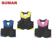 Custom size offshore active portable water skiing life jacket