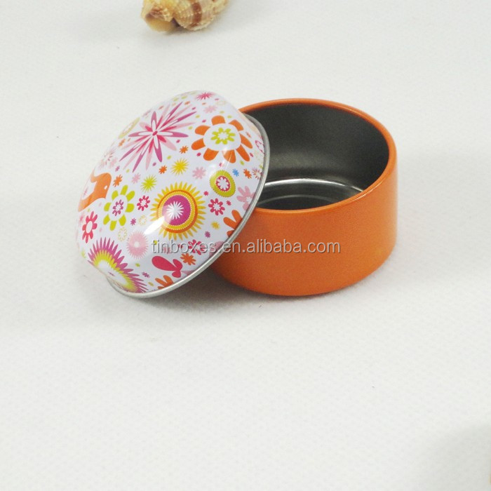 2015 fashional cheap tin box lip balm