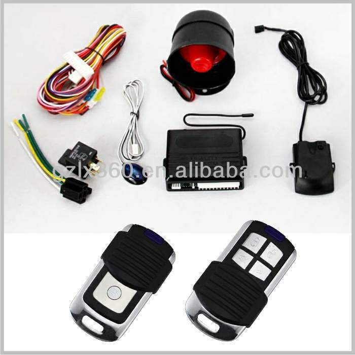 Quality firs ! wheels car alarm system YK-218