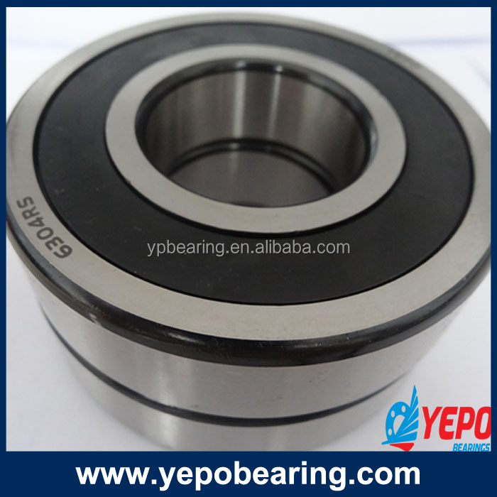 High quality low noise and long life ball bearings 6304 for stitching machine from Yepo factory