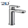 Cheap bathroom brass chrome single handle wash basin faucet