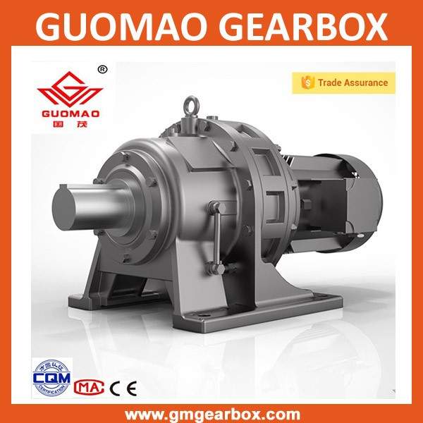B/X series BL3 cycloidal gearbox reducer for belt conveyor with 5.5kw motor