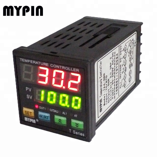 MYPIN Popular PID C/F temperature controller TA4-SNR with K, <strong>J</strong>, E, S, PT100 type signal input