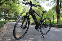 27 speed aluminium 36v 10ah rear drive 27.5 28 inch e cycle electric bike for tall men