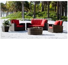 Simple design outdoor patio benches sofa furniture sets on sale