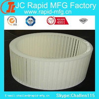 Customised cnc machined plastic wheel rapid prototypes with low price