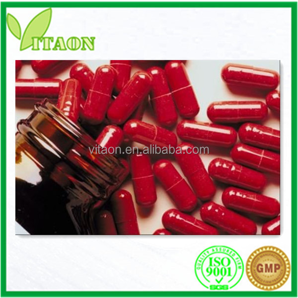 Reishi Mushroom Extract Capsule 250 mg for Dietary Supplement
