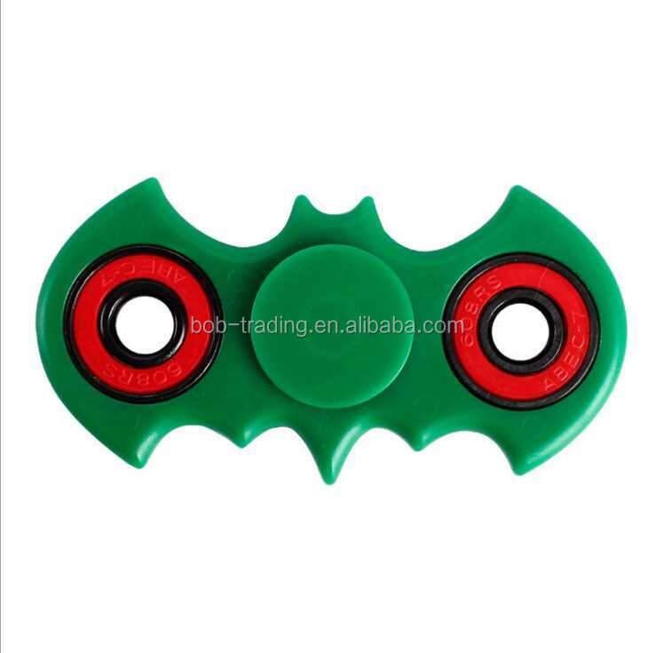 old factory Promotion Gift Bat Shape Hand Spinner 2017best quality figet spinner