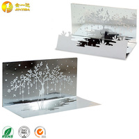 Happy holiday 3D lenticular christmas greeting card