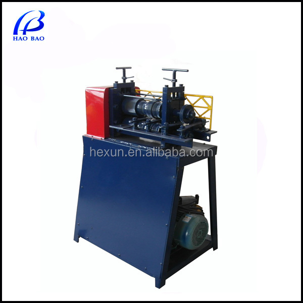 HW-B Automatic Wire Peeling Machine Scrap Metal Recycle machinery in cable manufacturing equipment