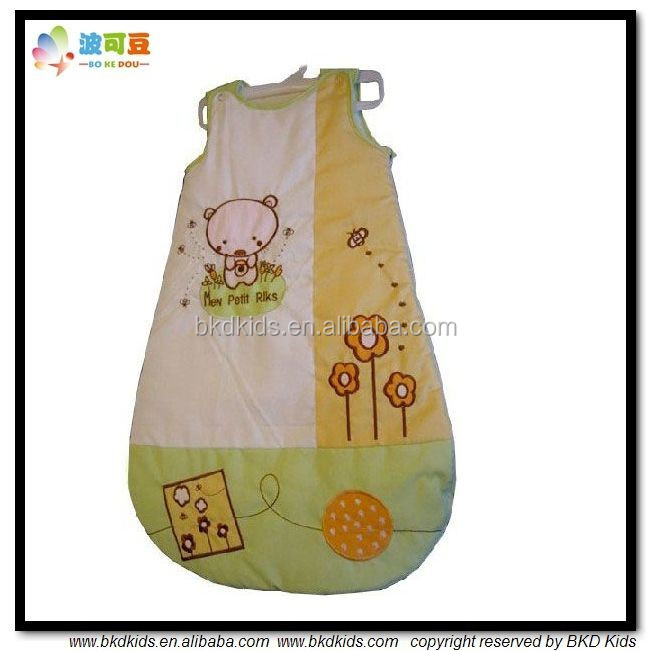 BKD OEM service cotton baby winter sleeping bags