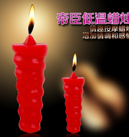 cheap fancy led pillar carved low temperature candles for sex toys