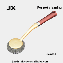 pot scrubber cleaning tools with stainless steel wire as kitchen cleaner