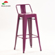 Nordic counter simple high chairs metal industrial loft bar chairs