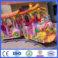 Happy kids games electric track train A for sale