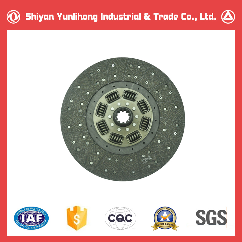 Chinese Dongfeng Truck Spare Parts Clutch Driven Disc Plate Assembly 4987991 1601Z56-130C