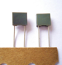 0.1uF 63V capacitor metallized polyester film capacitor