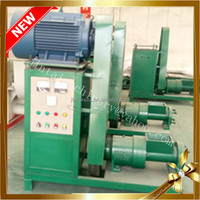 Compressed briquette machine from wood log