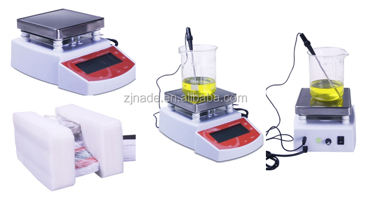 Nade Lab mixing Instrument MS400 Hot Plate Magnetic Stirrer 0~1250rpm 0-400C