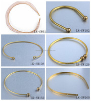 Cheap Wholesale Brass Wire Necklace Findings For Jewelry Making