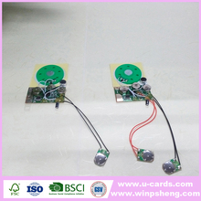Audio Recording Ic Chip/Sound Module For Greeting Cards
