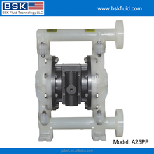 1 inch Plastic Diaphragm pump With Teflon Diaphragm