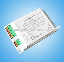 ETL approved triac dimmable led driver dimmer 220v to 12v
