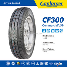 Tire manufacturing company COMFORSER PCR radial passenger car tire small wheels and tires