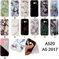 Marble Pattern Soft TPU Cover Case for Samsung Galaxy A3 2017 A5 2017 A320 A520