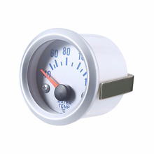 Auto Car 2 Inch 52mm 40~120 Celsius Degrees Water Temperature Meter Gauge with Sensor for All 12 Volt Cars Trucks Motorcycles