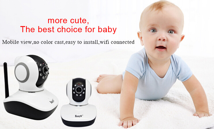 EasyN 720 model onvif system 1mp wifi security camera,Pan Tilt P2P Wifi IP Camera