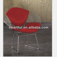 Chromed Welded Steel Garden Chair