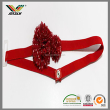 China Wholesale Ladies Leather Flowers Belt/Custom Beaded Western Belts/Leather Flowers Belts