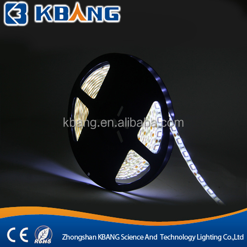 IP 68 RGB SMD 5050 battery powered Flexible led strip lights for cars