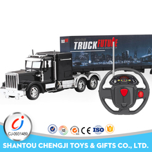China manufacturer top quality 4channel electric toy kids rc construction equipment for sale