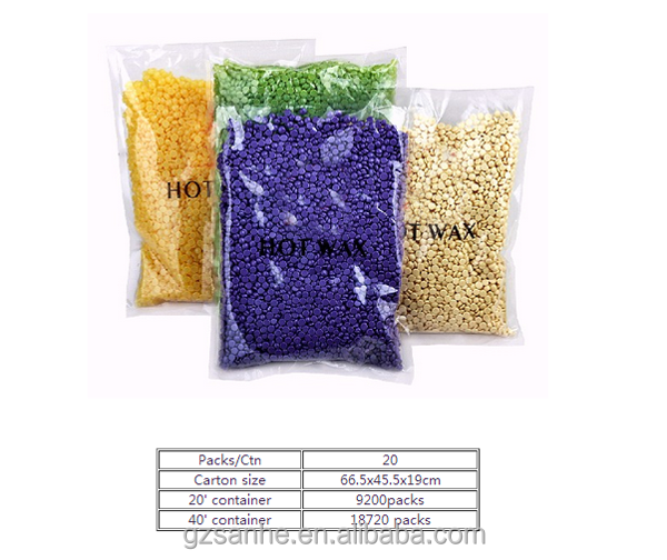 300g 500g 1000g Hair Removal hard wax beans hair removal hard wax