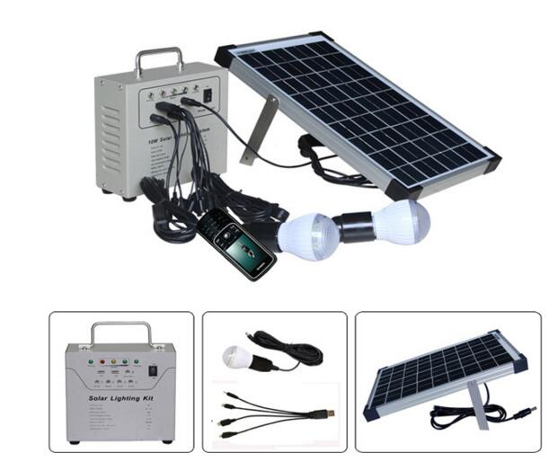 Solar energy products home 2016 Sunpower LED system kit