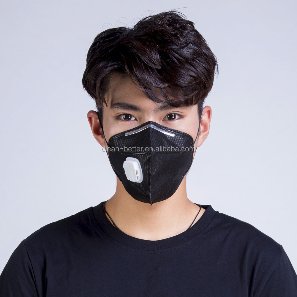 OEM brand logo printed disposable protective dust masks with respirator