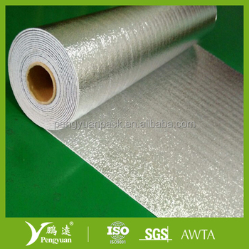 Aluminum foil foam thermal insulation for metal roof buy for Quick therm insulation cost
