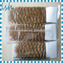 Wholesale Brazilian Remy Human Noble Gold Hair