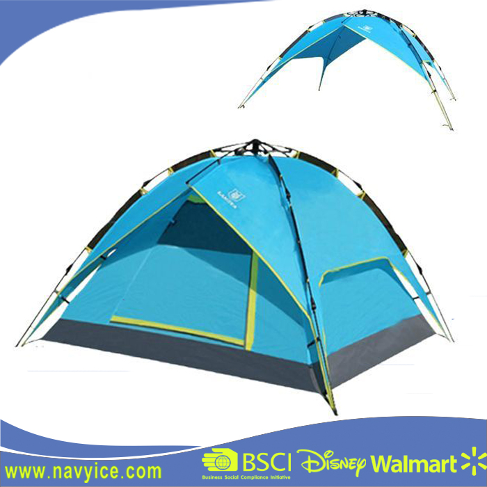 Family Automatic Camping Tent for outdoor using automatic roof top tent