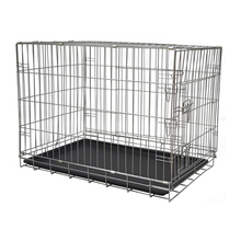 Double modular heated large dog kennel MHD005