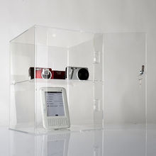 Cost-effective Clear acrylic plastic supermarket display showcases box for sale