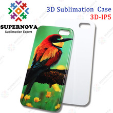 3D Sublimation Blanks Cover for iphone 5