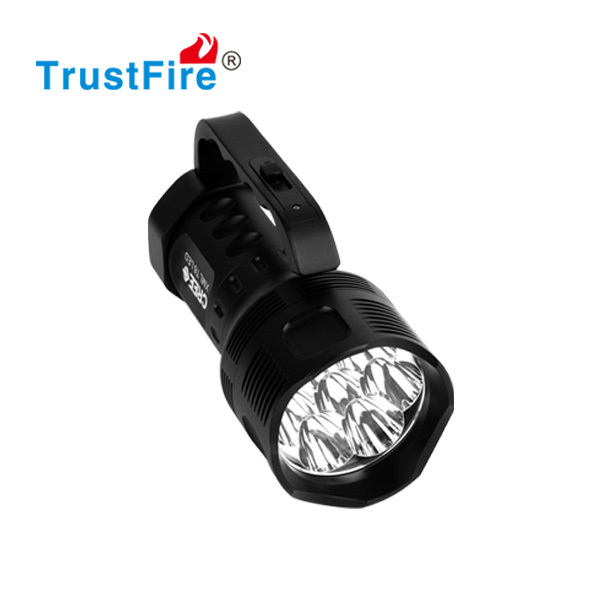 TrustFire original factory TR-S700 7xCREE XM-L T6 leds 2700lumens portable electric hand lamp
