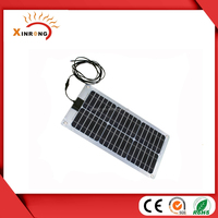 120W Semi Flexible Solar Panel with ETFE Material