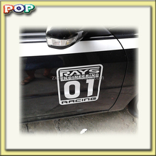 Popular letters sale car stickers self adhesive label