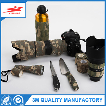 Heat Resistant Cloth Casting Camouflage Vinyl Duct Tape Rolls Wholesale